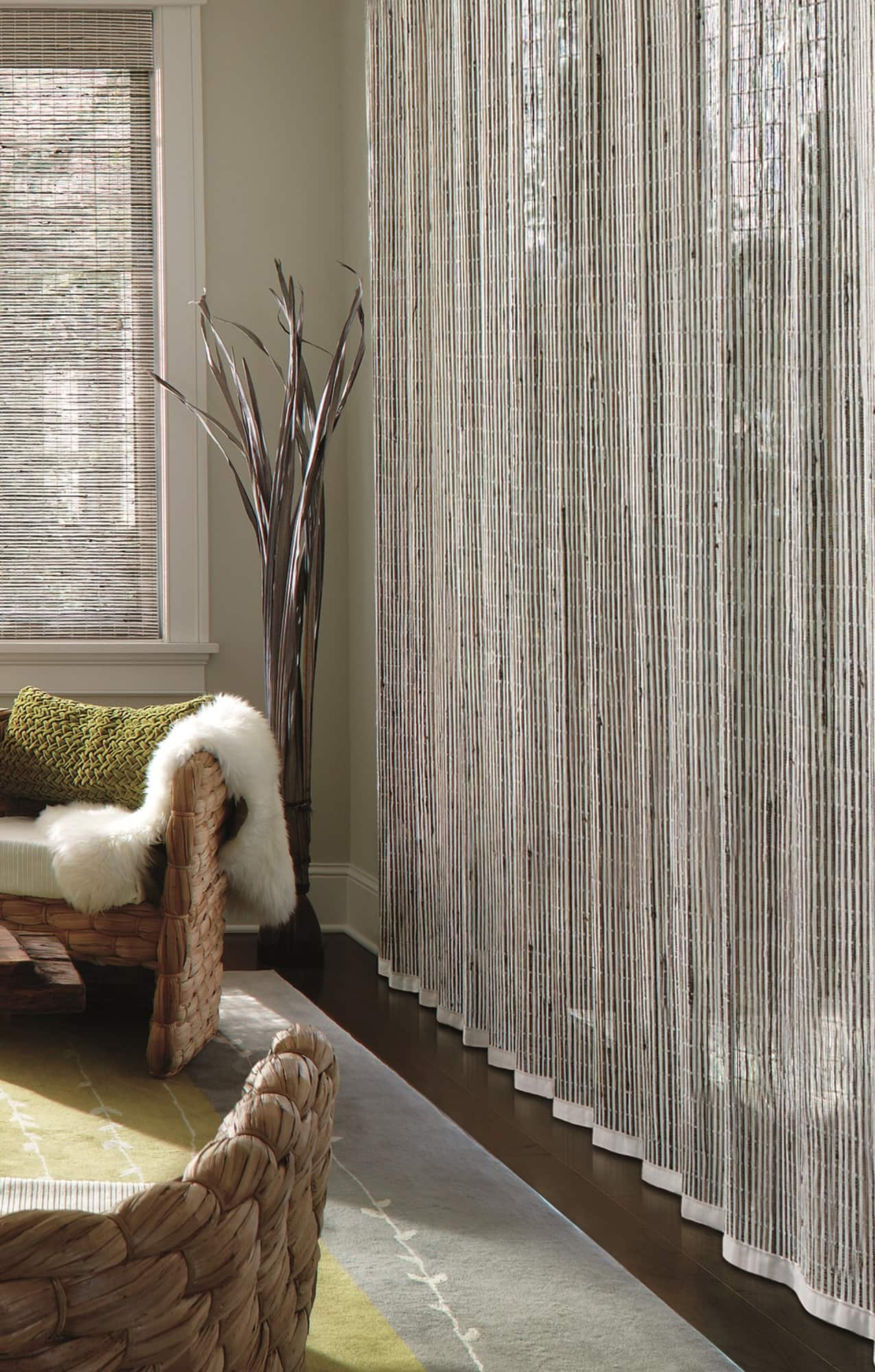 Hunter Douglas Provenance Woven Woods Victor Shade
